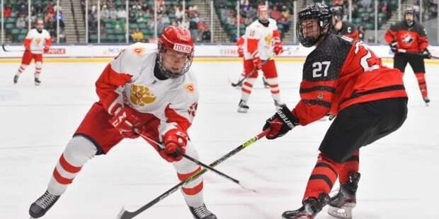 Сборная России завоевала серебро юниорского чемпионата мира по хоккею