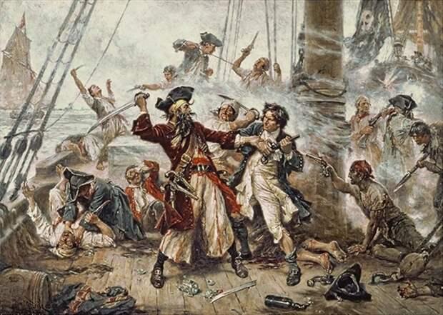 «Женщина на корабле» и другие приметы, которых пираты боялись как огня