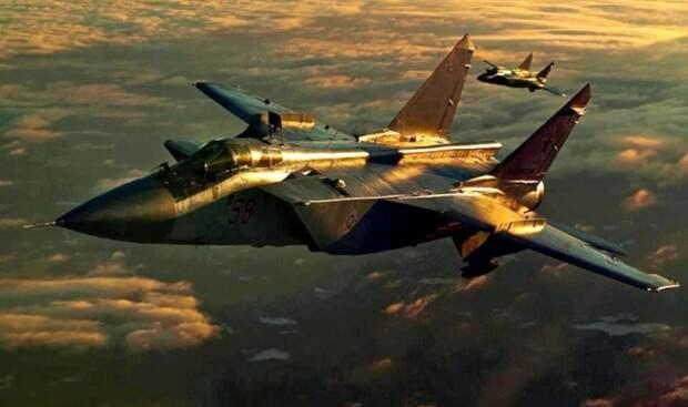 Sohu: внезапный маневр МиГ-31 у Аляски сильно удивил американских военных
