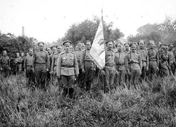 Русский солдат, забытый на посту в Осовце