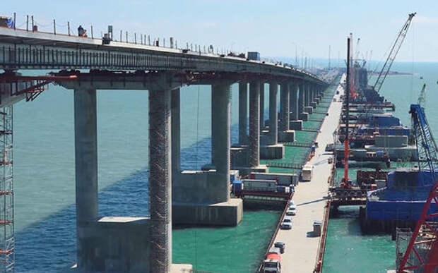 Крымский мост: мы уже проехали по нему