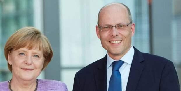 Ангела Меркель и Петер Байер