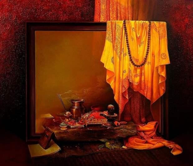 Художник Amit Bhar. Индия – это волнующая сказка