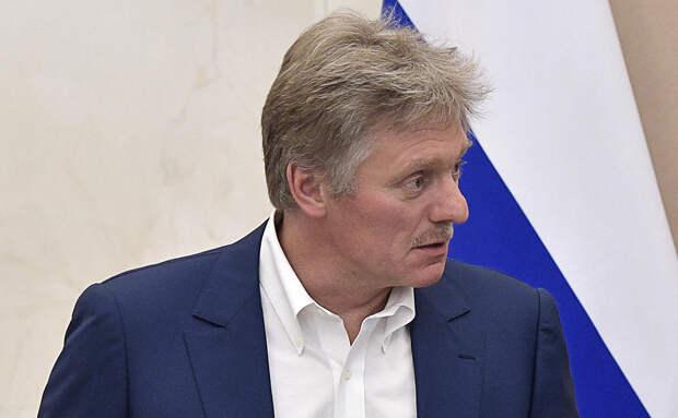 Песков оценил слова о заходе британских кораблей в «воды Украины»