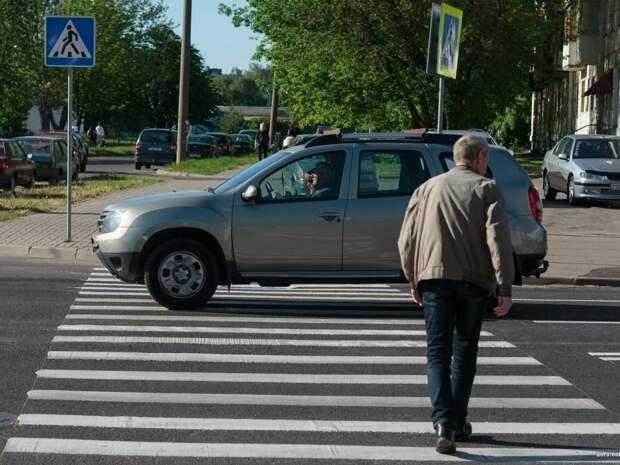 Ответ инспектору ГИБДД, который штрафует за непропущенного вдалеке пешехода