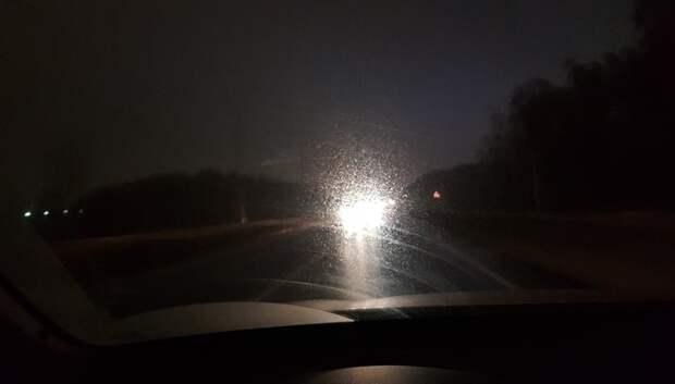 Освещение на Обводной дороге в Подольске планируют восстановить до 11 марта
