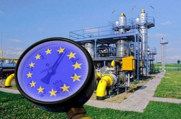 Экспорт газа Европа Газпром