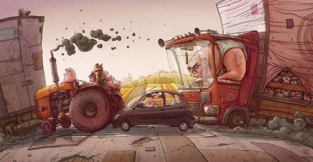 Топ-5 самых опасных персонажей на дорогах