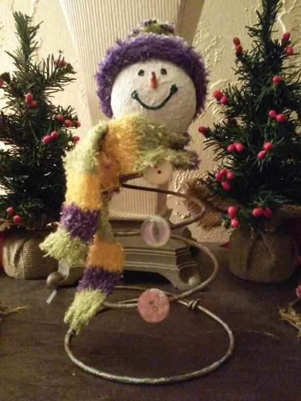 Даже новогоднего снеговика Фабрика идей, дизайн, красота, кровати, мастерство, спинки