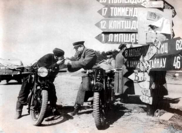 Боевые байкеры: как воевали на мотоциклах в Великую Отечественную