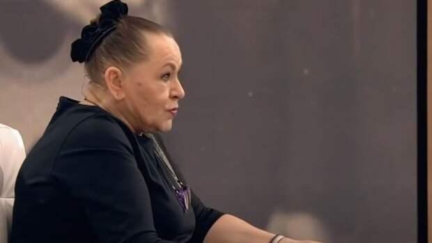 Рязанова не сдержала слез во время рассказа о покойном сыне
