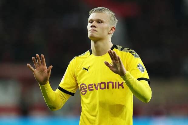 Источник: нападающий «Боруссии» Холанд получит награду Golden Boy — 2020