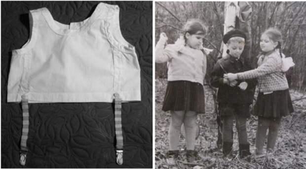 Зачем в СССР мальчиков и девочек заставляли носить лифчики