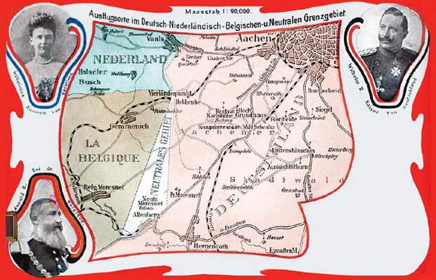 Почтовая открытка из Мореснета, около 1900 г.
