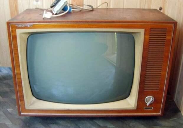 Эти советские телевизоры продавали даже за границей