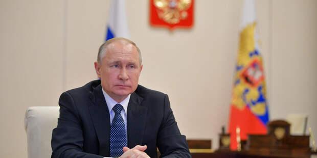 Путин призвал помочь странам Африки