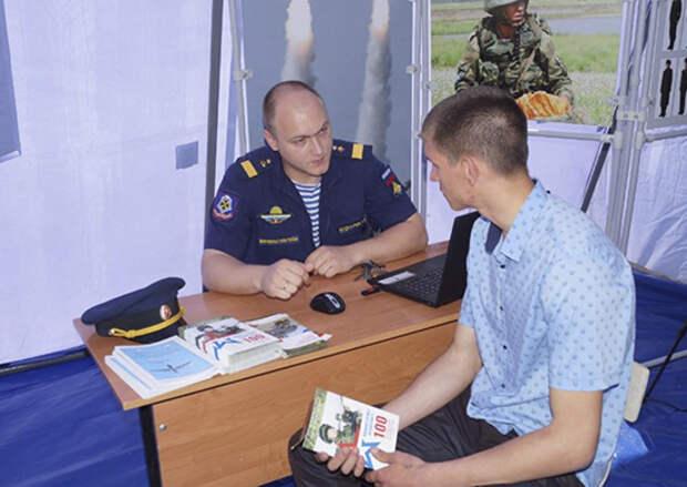 В 2021 году в Волгоградской области на 15% вырос интерес к военной службе по контракту