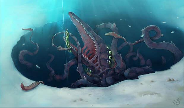 Загадки планеты Земля, осьминог, Луска