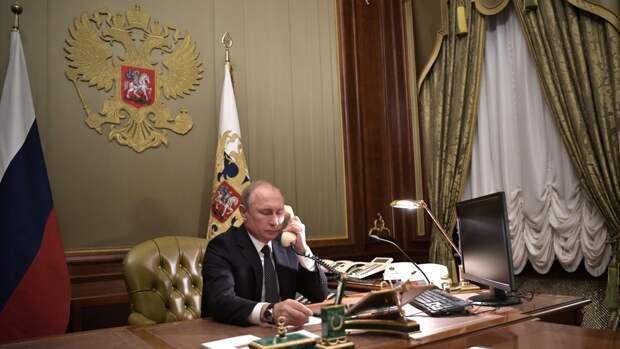 Путин обсудил по телефону с Эрдоганом возобновление авиасообщения