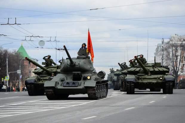 Из-за репетиции военного парада в Нижнем Новгороде изменится схема движения транспорта