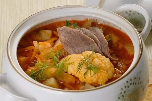 Праздничные блюда из языка