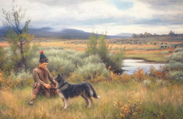 Саамский шаманизм и древнескандинавская мифология