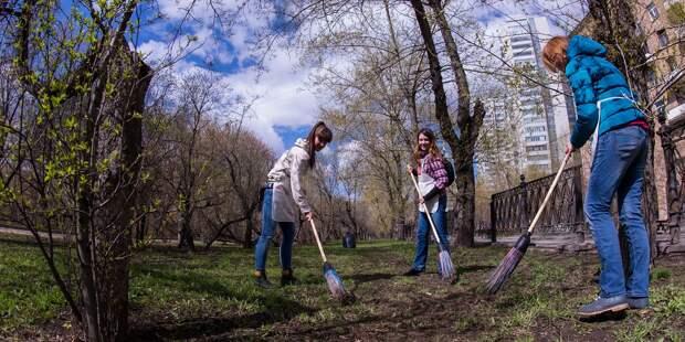 Общегородской субботник пройдет в районе Сокол 24 апреля