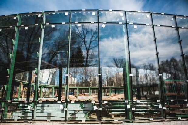 Постройки в нижегородском парке «Швейцария» будут выполнены в зеленых цветах