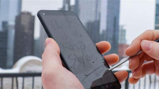 Смартфон со стилусом, конкурент samsung note? moto g stylus 5g