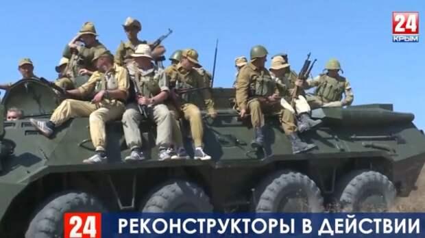 Самые яркие моменты Крымского военно-исторического фестиваля