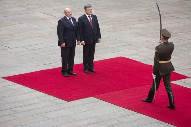 Украина нарывается на скандал с Белоруссией