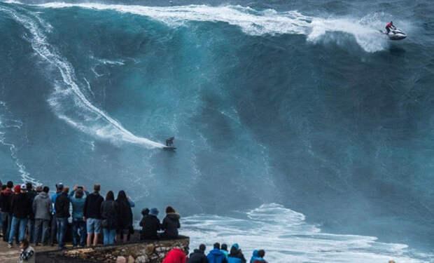 Самые огромные волны, которые сняли на видео
