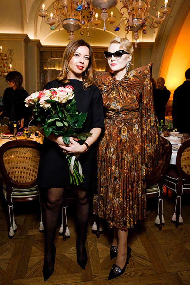 Зинаида Пронченко и Рената Литвинова
