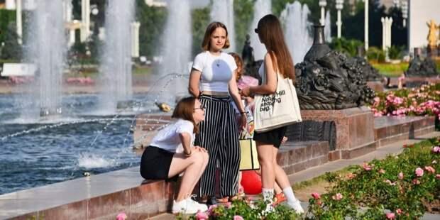 На проблемы со здоровьем во время жары жалуются 80% москвичей