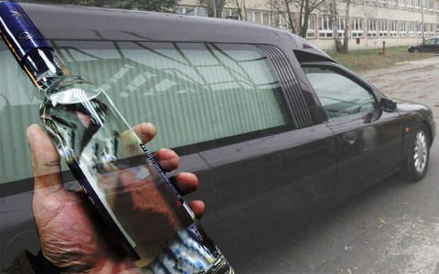 «Сгорел на работе»: водитель катафалка за день дважды попался пьяным за рулем