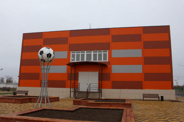 В одном из районов Кубани появился новый спорткомплекс