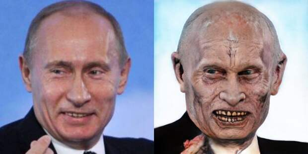 10 знаменитостей, которых мы превратили в зомби в честь Хэллоуина