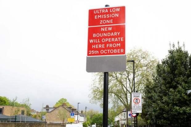 Садик Хан анонсировал расширение платной зоны въезда в Лондон для старых автомобилей