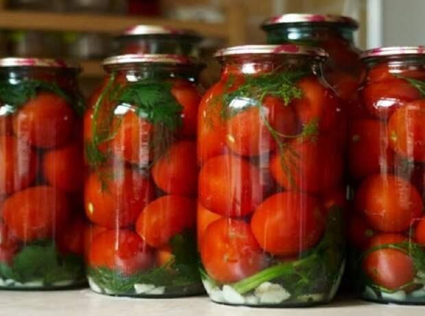 Рецепт вкусных СЛАДКИХ «Царских» помидор без уксуса! Плотные, сочные, сладкие с небольшой кислинкой