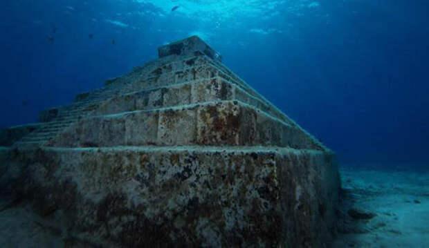 Гигантская пирамида на дне озера Кинарет