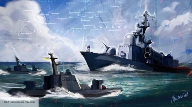 Sohu: корабли НАТО угодят в ловушку России на Азовском море