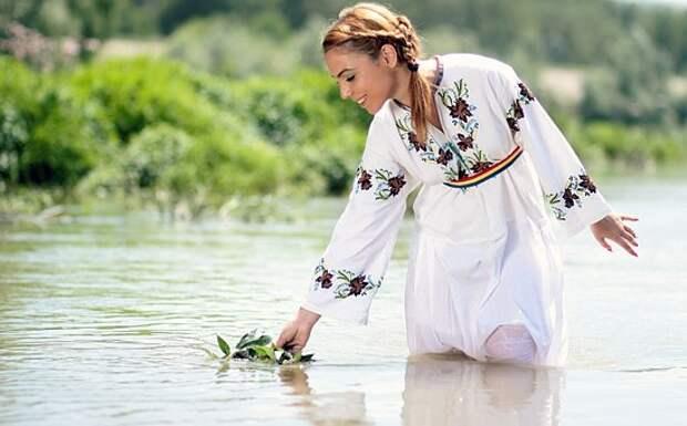 Девушка, Крестьянка, Традиция, Воды