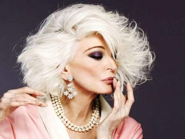 88-ми летняя модель: взлет карьеры после 40-ка, тотальное невезение с мужчинами и секреты красоты