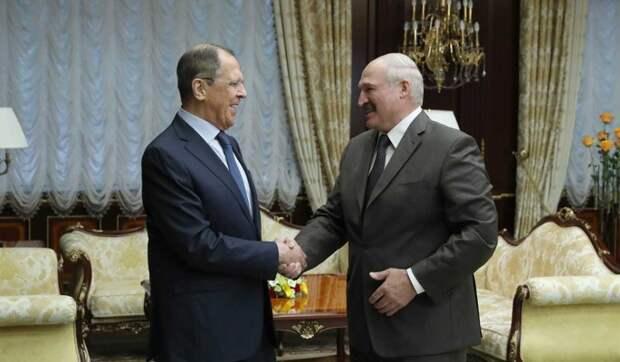 Названа цель визита Лаврова к Лукашенко: Почтальон Путина