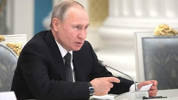 Путин поддержал идею прописать в Конституции норму об уважении к людям труда