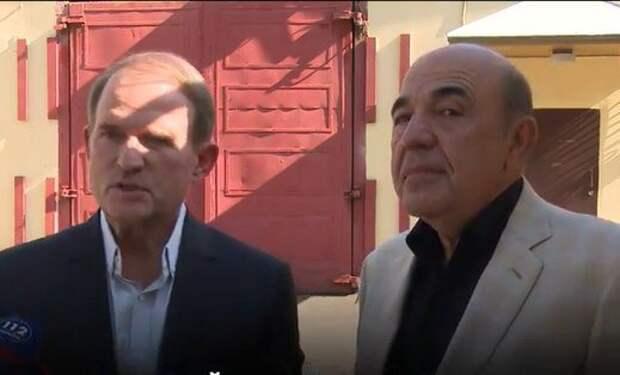 Медведчук и Рабинович в Лефортово