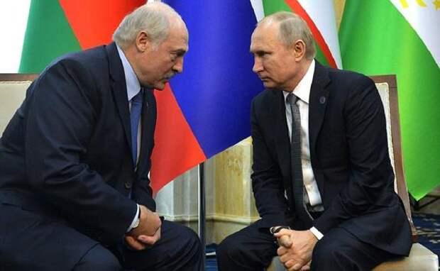 Песков назвал темы переговоров Путина и Лукашенко в Кремле