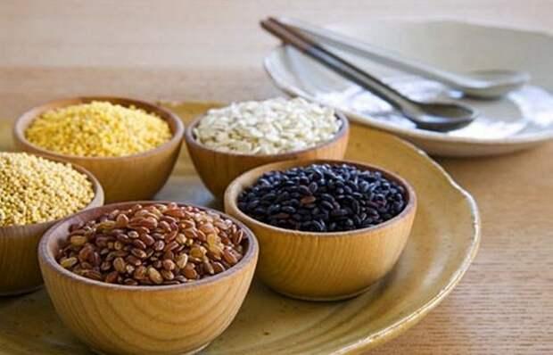 Цельнозерновые продукты снизят кровяное давление.