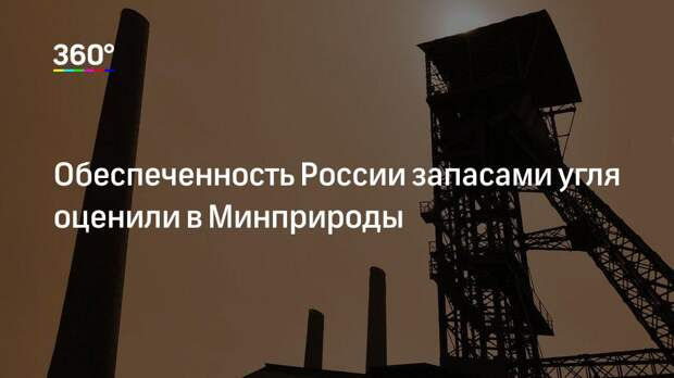 Обеспеченность России запасами угля оценили в Минприроды