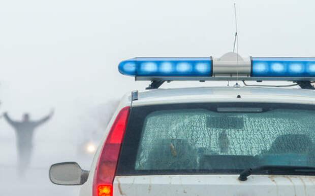 Сотрудники ДПС спасли на заснеженной трассе семью с двумя детьми